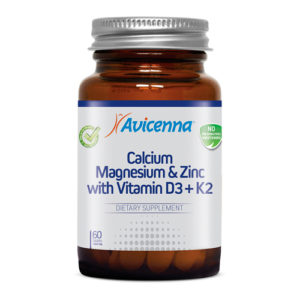 Avicenna Кальций магний цинк с витамином Д3 и К2