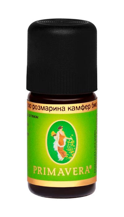 Эфирное масло розмарина камфер био 5 мл, Примавера Лайф