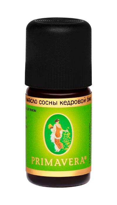 Эфирное масло сосны кедровой био 5 мл, Примавера Лайф
